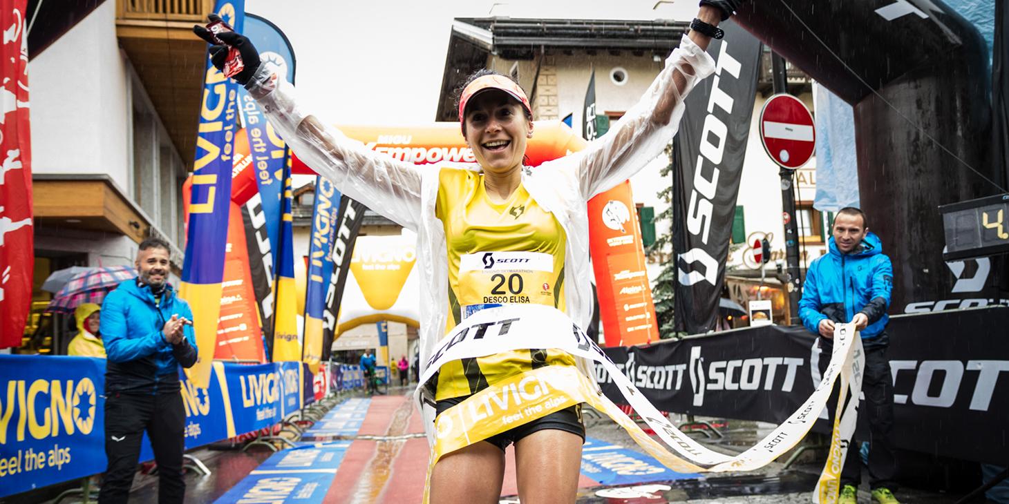 Elisa Desco, Livigno SkyMarathon winner. © Immagine di Alessandro Tomiello