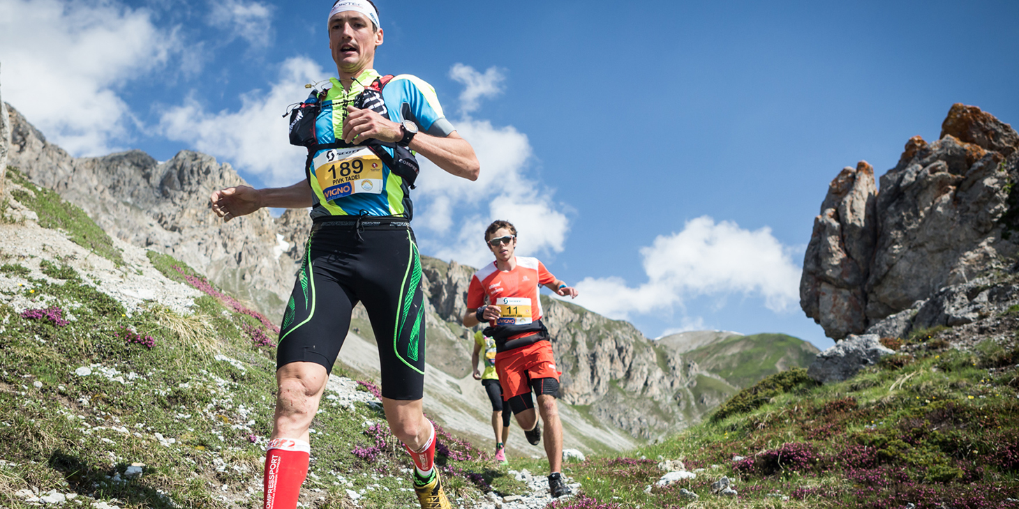 Tadei Pivk, ranking leader and race winner followed by Jan Margarit, 2nd. © Immagine di Alessandro Tomiello