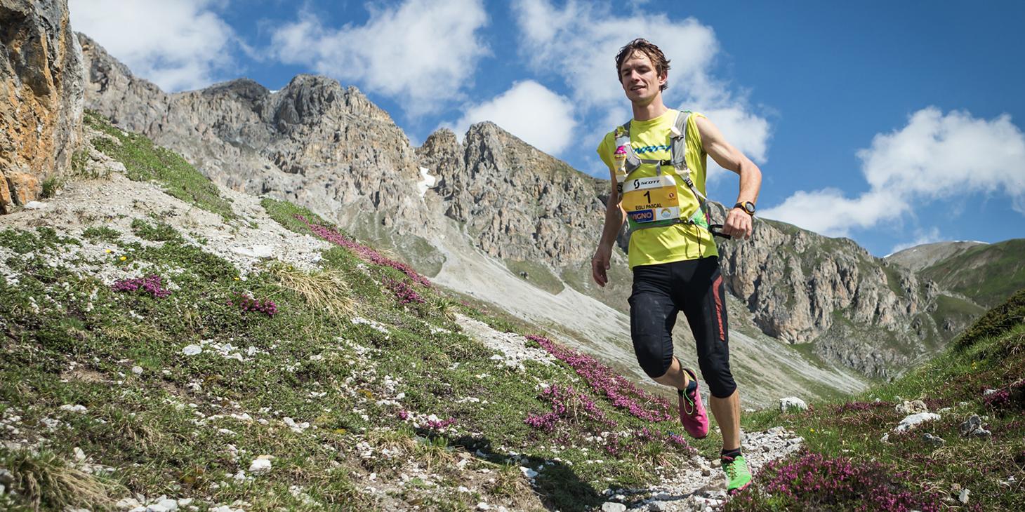 Pascal Egli from Switzerland, third Livigno SkyMarathon. © Immagine di Alessandro Tomiello