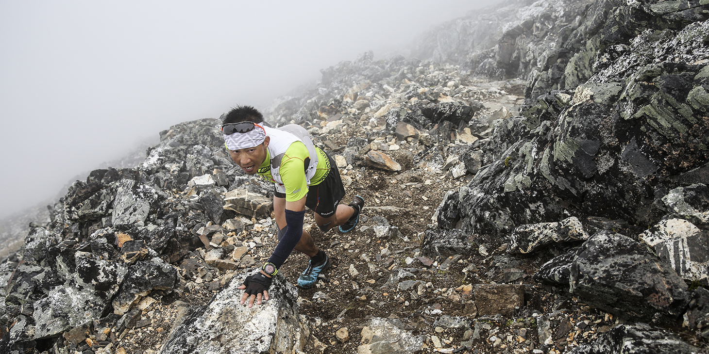 Sota Ogawa, 4th, Hamperokken SkyRace. ©iancorless.com /SWS