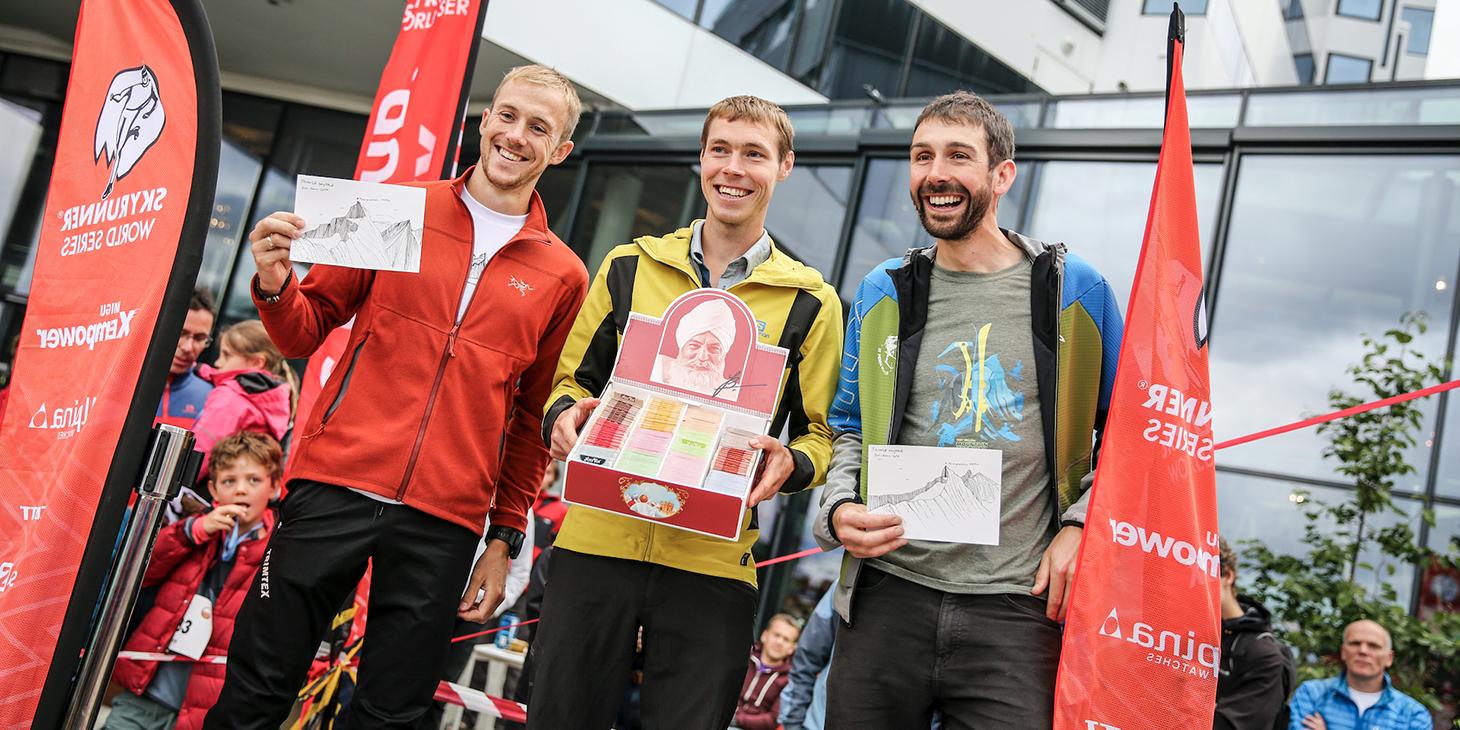 Men's podium Jon Albon, Tom Owens, Finlay Wild. ©iancorless.com /SWS