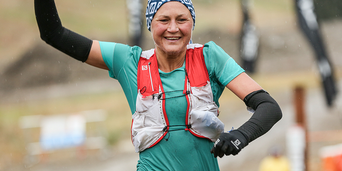 The Rut 50K race winner Ida Nilsson. ©iancorless.com / SWS