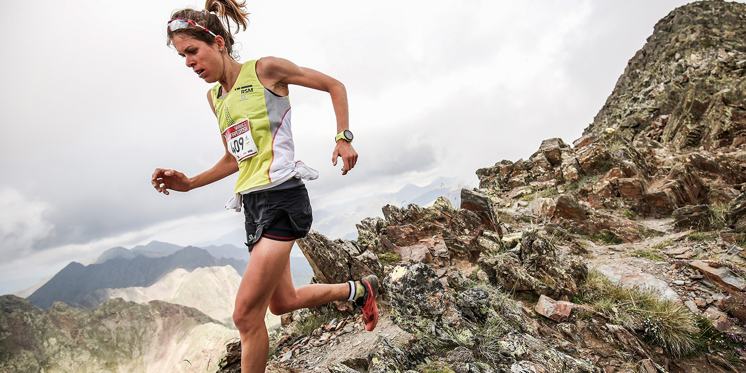 Laura Orguè, 2nd in the Vertical and Sky Series, counts the most ranking points overall. ©iancorless.com / SWS