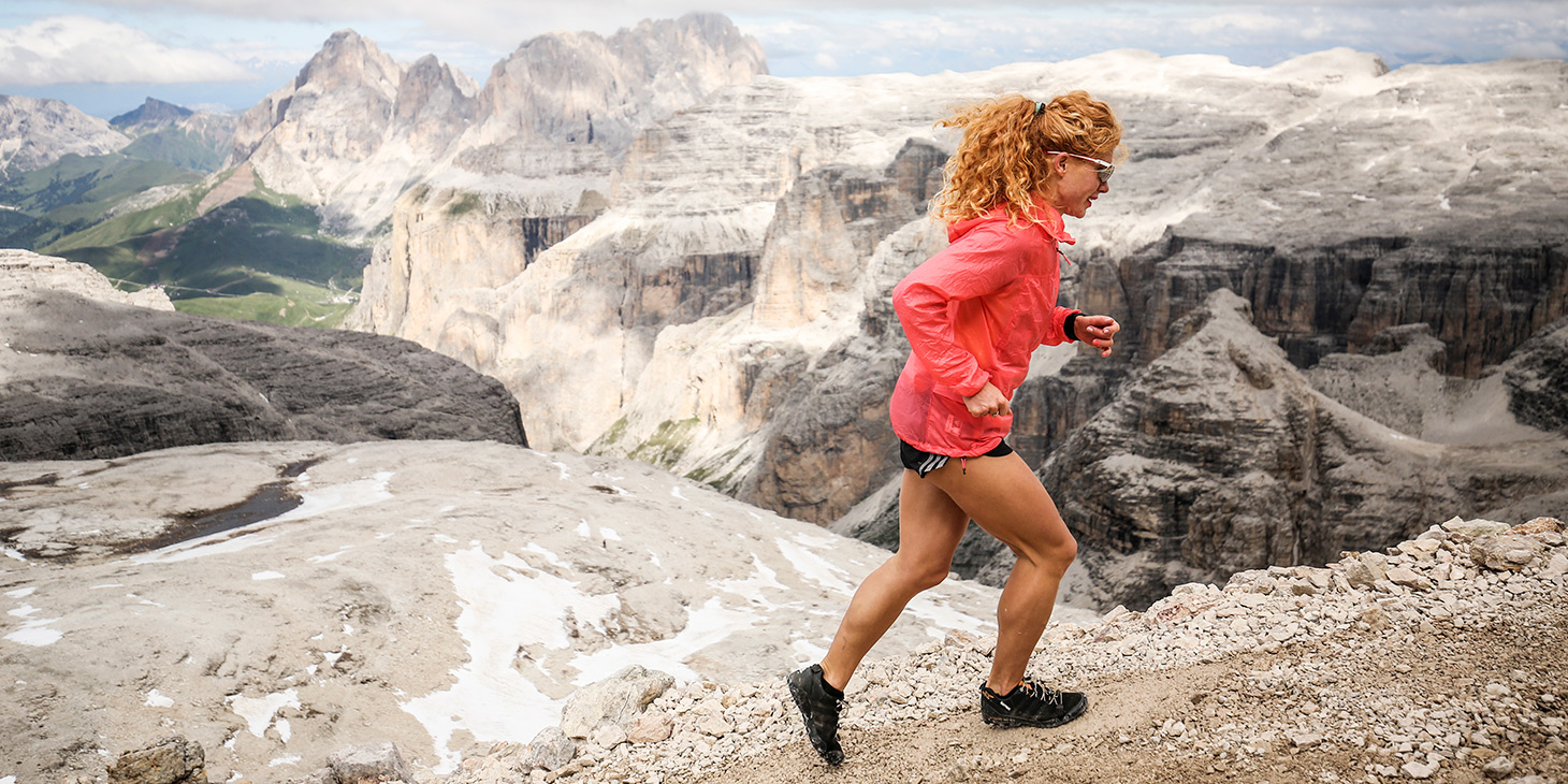 Russian Ekaterina Mityaeva, she raced in Vertical, Sky and Ultra this year. ©iancorless.com / SWS
