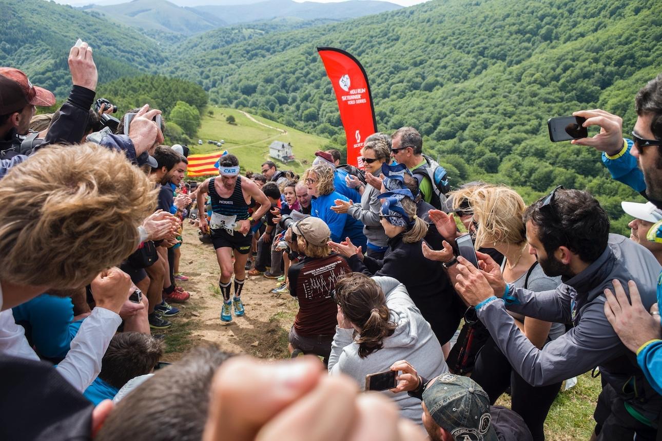 Marco De Gasperi, second in Zegama-Aizkorri. ©Quim Farrero / SWS