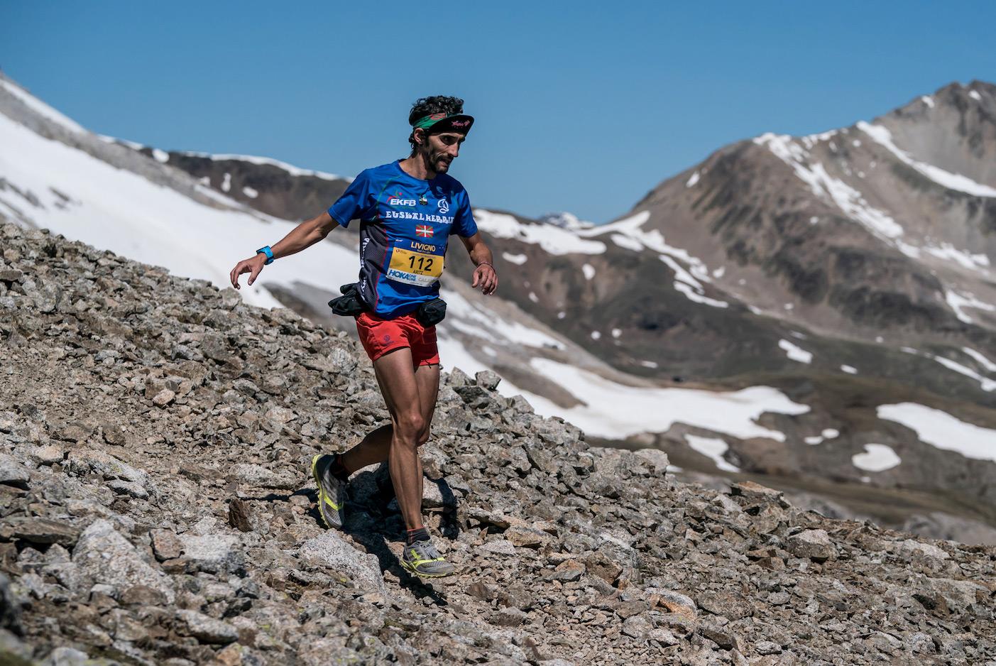 Aritz Egea, 2nd in the Livigno SkyMarathon, now leads the Sky Classic ranking. ©iancorless.com /SWS