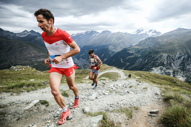 Martin Anthamatten, 2015 Ultraks 46K winner and ambassador is back in racing mode. ©iancorless.com / SWS