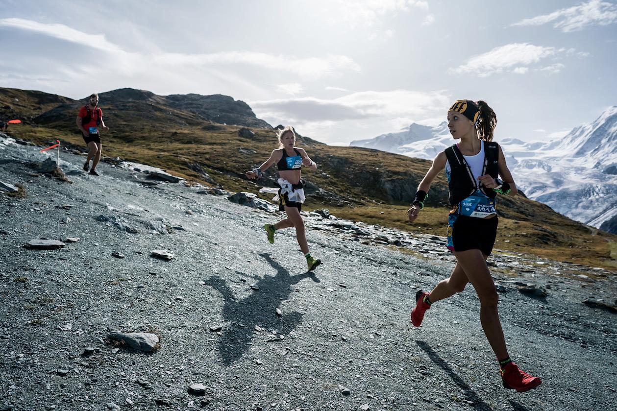 Sheila Avilés, third, Matterhorn Ultraks 46K, Gornergrat. ©iancorless.com / SWS