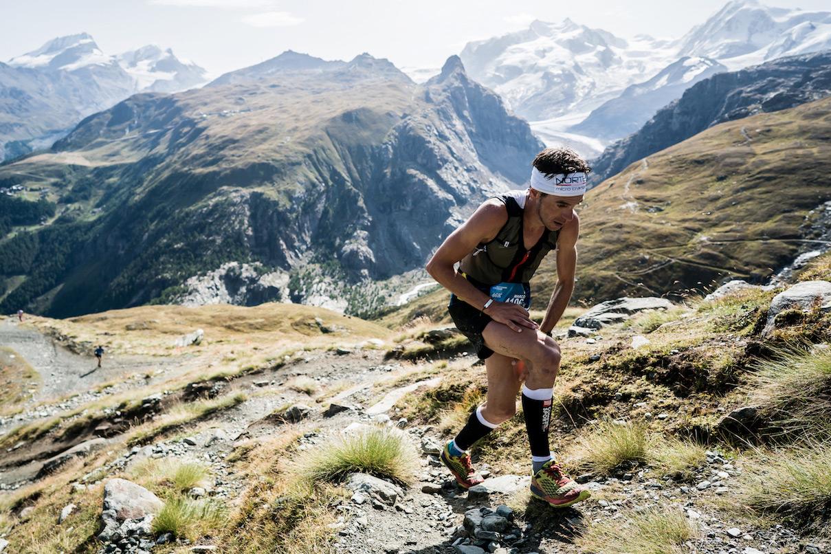 Marco De Gasperi, Matterhorn Ultraks race winner. ©iancorless.com / SWS