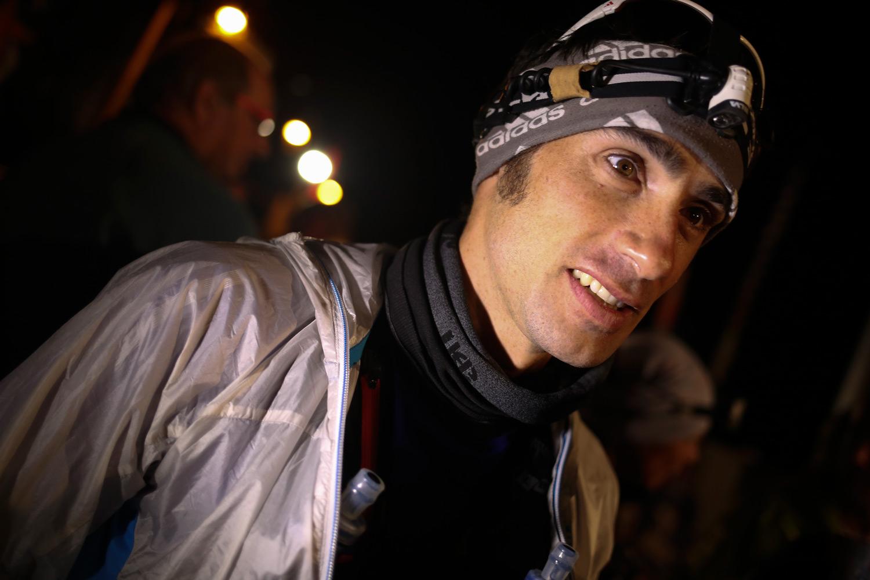 Luis Alberto Hernando, 2016 Skyrunning World Champion and 2017 European Champion heads for The Rut 50K. ©iancorless.com / SWS