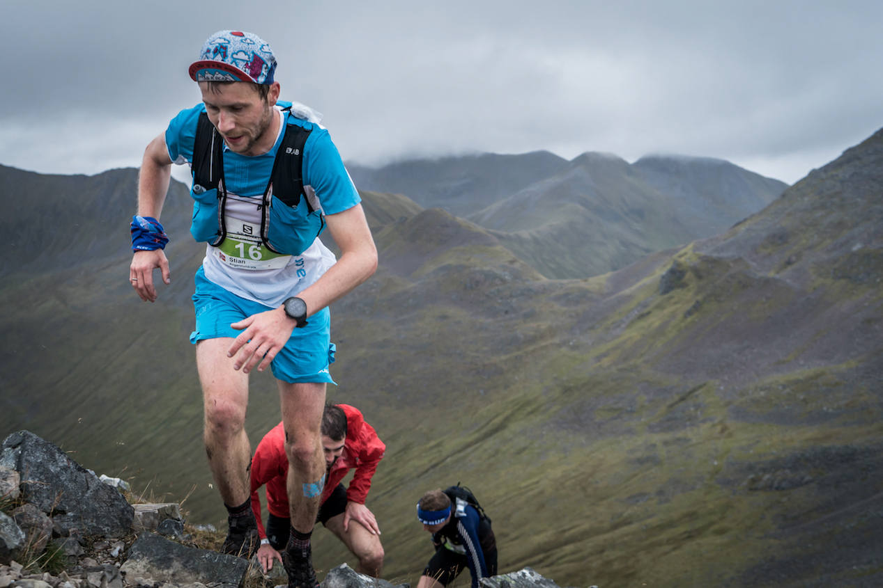 Stian Angermund-Vi, winner and new recordholder at Salomon Ring of Steall. ©iancorless.com / SWS