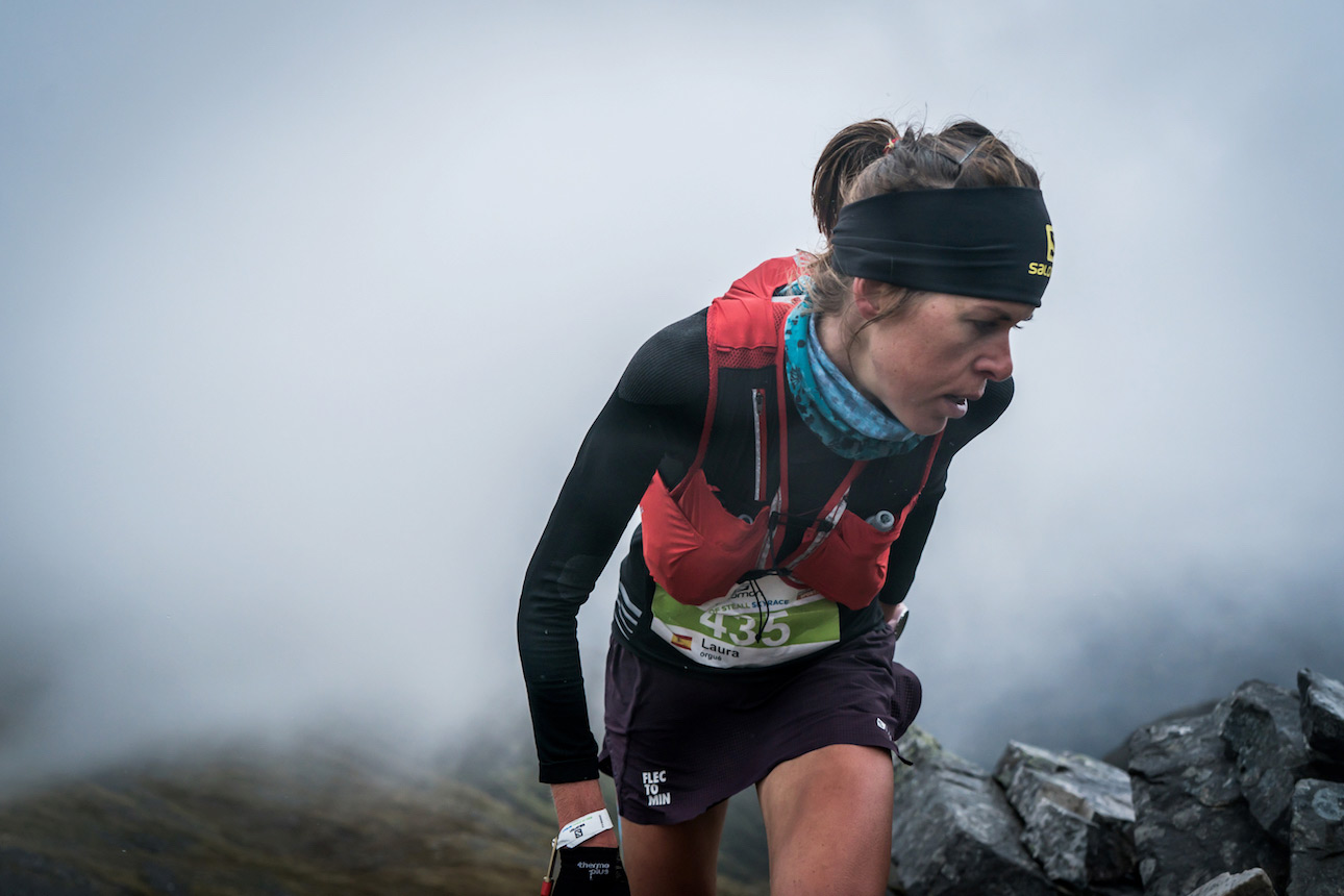 Laura Orgue, winner and record holder at Salomon Ring of Steall. ©iancorless.com / SWS