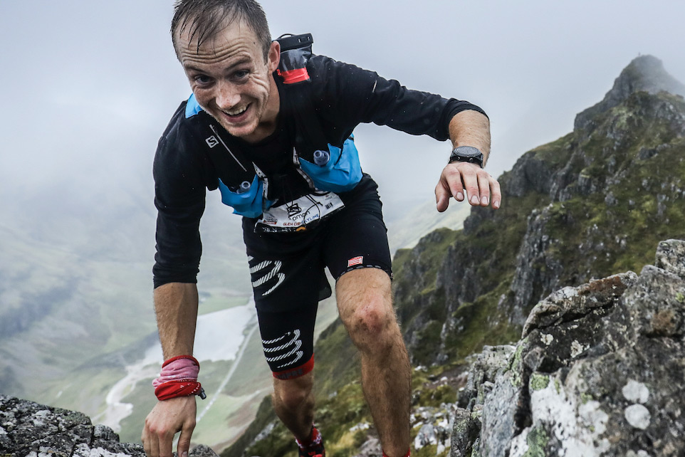 Jonathan Albon, 2016 Salomon Glen Coe Skyline winner is aiming for the Overall rankings. ©iancorless.com / SWS