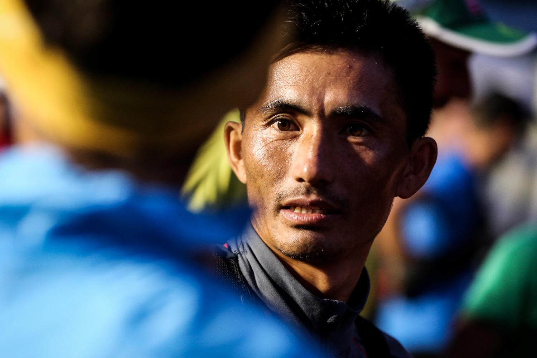 Nepali Bhim Gurung, 2016 Kima winner heading for Scotland. ©iancorless.com / SWS