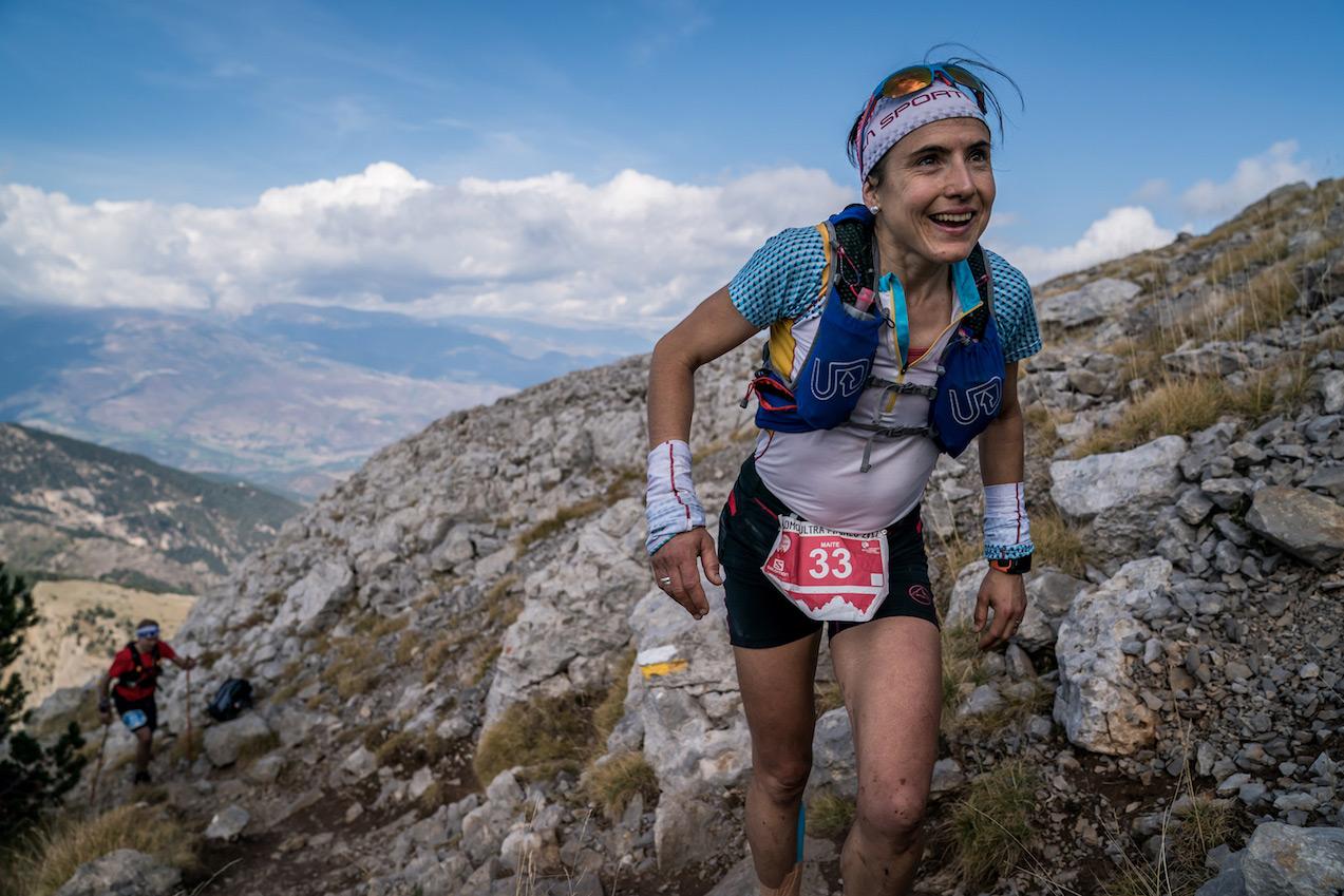Maite Maiora now leads the Overall ranking after the winning Salomon Ultra Pirineu. ©iancorless.com SWS