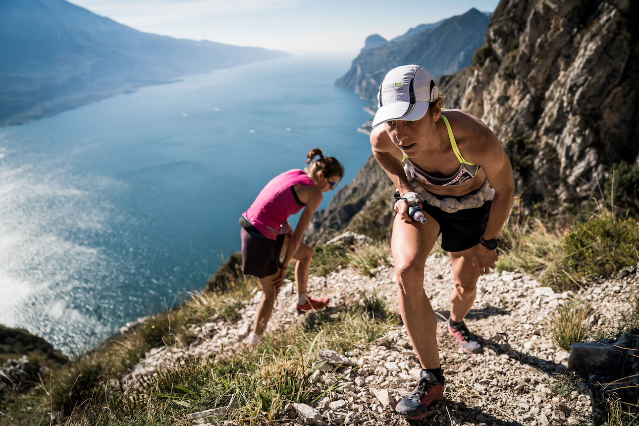Ragna Debats, third at Limone SkyRace, a close second on the Overall rankings. ©iancorless.com / SWS