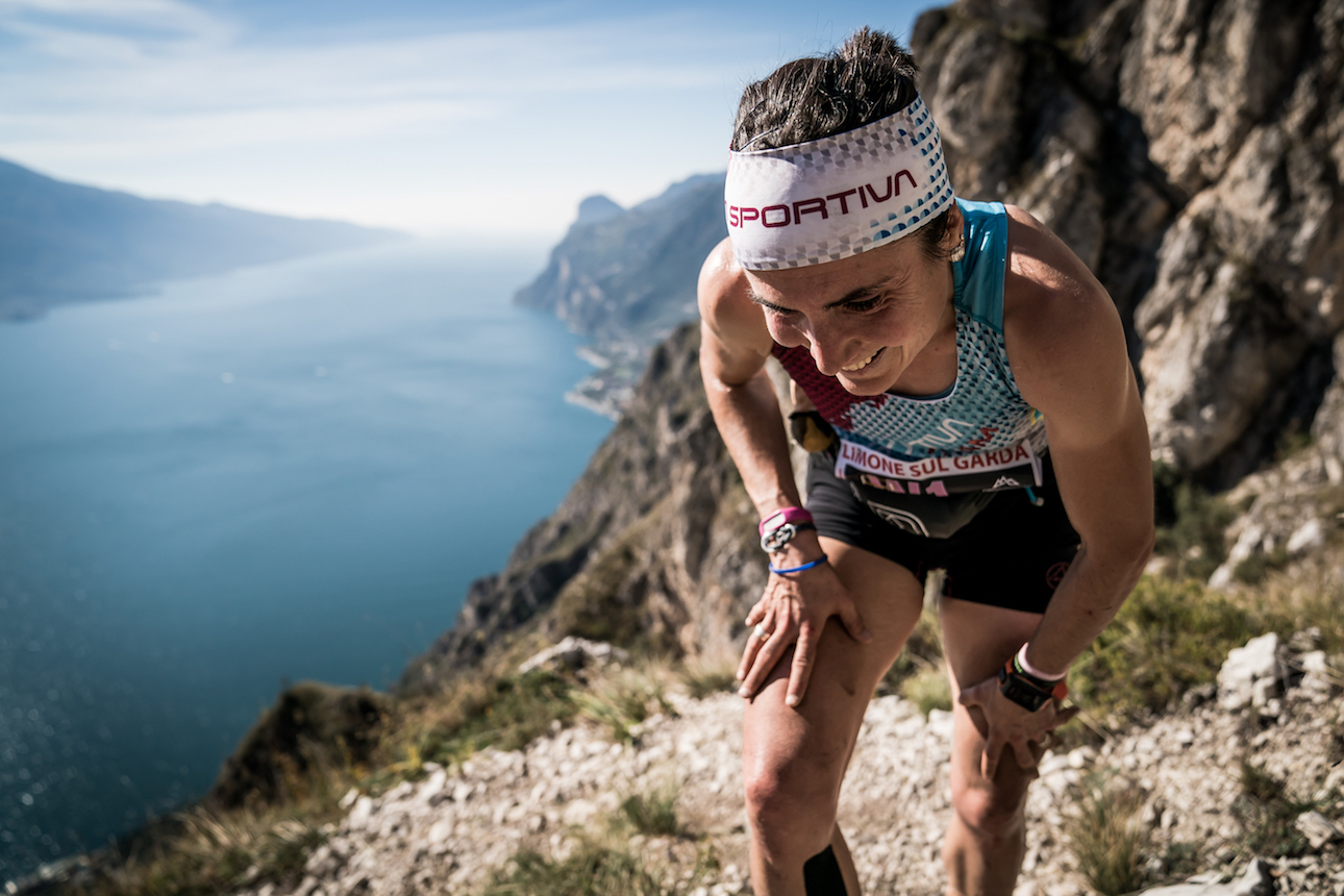 Maite Maiora, Overall Champion, eighth in the Limone SkyRace finals. .©iancorless.com / SWS