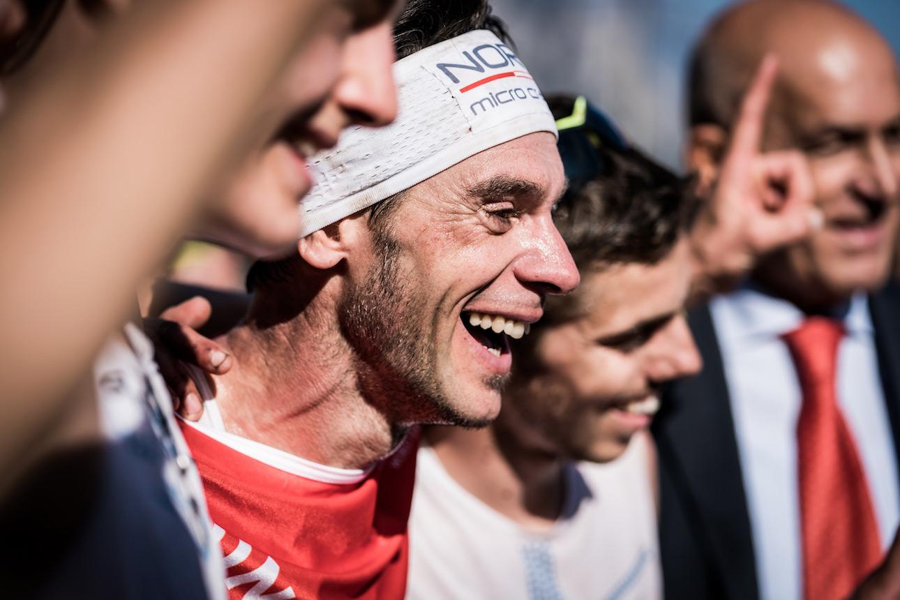 An ecstatic Marco De Gasperi, Sky Classic champion and race winner.©iancorless.com / SWS