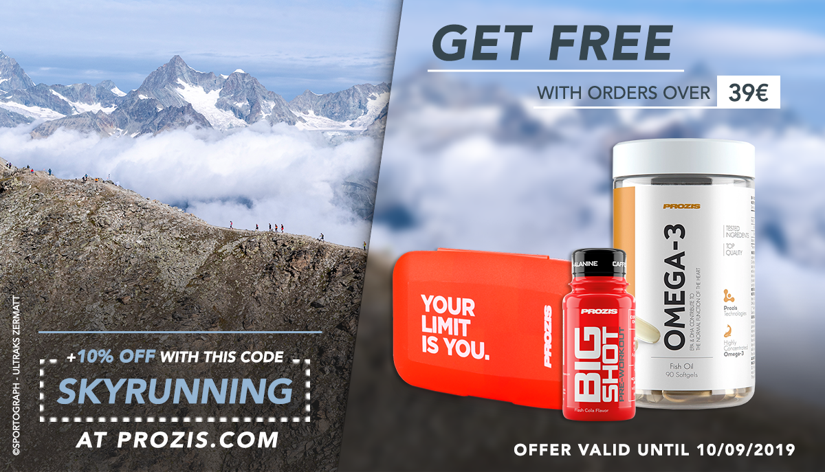 PROZIS sports gels skyrunning nutrition